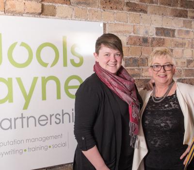 The Jools Payne Partnership Sponsors Oswestry Small Business Award